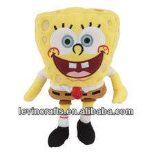 LE-A13032111 big head stuffed sponge-bob plush toys