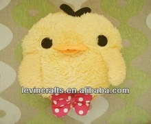 lovely cute stuffed yellow chicken plush toys
