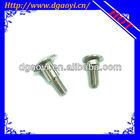 round head aluminium screw caps