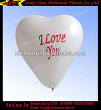 customer printed baloon heart shape latex white balloon decorations china wholesale ballon party balloons