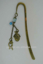 2013 new product metal craft bookmarks for books wholesale