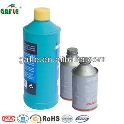 good quality brake fluid oil dot 3&dot4 in plastic and tin bottle