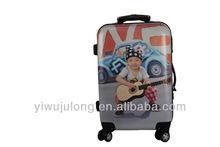 2013 Most Popular Kids Printed Trolley Luggage Bag