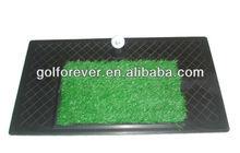 Nylon golf swing mat for practice