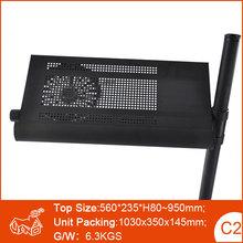 Pivot & Tilt Top Adjustable Overbed Bedside laptop eating Folding Multi Table