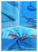 2013 China Factory wholesale 100% Polyester Fabric FDY Polar Fleece sequin tablecloth textile fabric