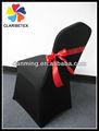 cinta de raso banda de la boda para cubierta de la silla