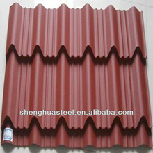 China Factory Shingles Roofing Materials/Corrugated Roofing Sheet