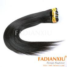 Unexpensive peruvian human virgin hair, soft hair, thin hair