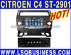 car DVD player for Citroen C4 with BT GPS navigation CAN-BUS ST-2901