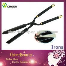 Hair straightener and curling iron BI003/ straightening iron /professional black hair curling irons
