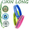 2013 new debossed cheapest silicone bracelets with ink filled