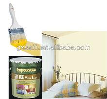 liquid drum coating odorless 5 in 1 interior emulsion paint