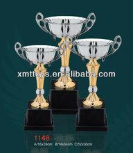 new design bronze trophy/metal trophy cup/sport trophies
