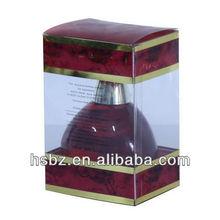 Elegant plastic box for perfume