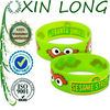 bird logo printed beautiful silicone bands for promotional gifts