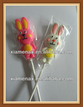 rabbit shape personalized unique lollipop