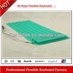 85 keys silicone flexible old people keyboard