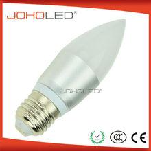 Innovative design candle led bulb 3w 5w led bulb b22
