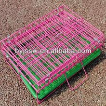folding dog cage/foldway dog cge/ foldable dog cage