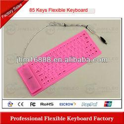 85 keys flexible silicone medical keyboard