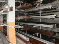 6000 series natural anodized aluminium profiles for solar panels