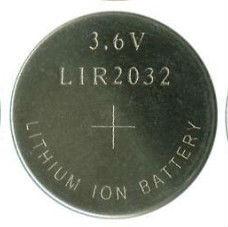 LIR2032 Lir 2032 CR2032 3.6V Li-ion Rechargeable Battery Lir2032