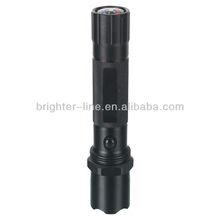 3W A luminun High power style flashlight wit compass