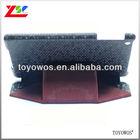 black leather cover for ipad mini