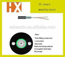 8core corning fiber optical cable GYFXY basalt fiber rebar