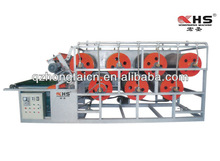 Rubber sheet cutting machine for hydraulic machine