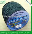 Pesca 200lb proveedores de china al por mayor de aparejos de pesca a granel trenzado línea de pesca 8 filamentos--- sunbang