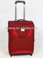Two-tone Inside Aluminum Pipe President Luggage