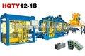Completamente automático de la línea de producción hqty12-18 bloque que hace la máquina de la tecnología de alemania
