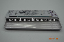 Pencil Tin Box with inner plastic tray