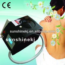 long pulse mini laser beauty machine/tattoo removal/skin whitening