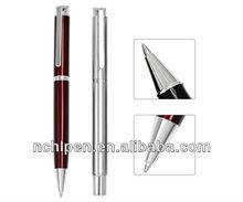 2014 Popular Simple Design Solid Colour Metal Roller Pen/ Ballpoint Pen