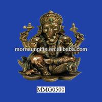 Hindu elephant god of success polyresin ganesh idols