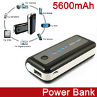 Hot Sale Portable pda phone accessories 5600mAh for Mobile Phones / Mp3 / Mp4 / GPS