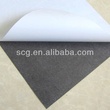 self-adhesive laminated flexible magnetic sheet