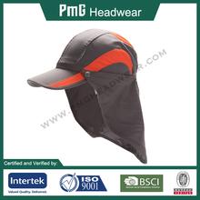 Sun Protection Cap / Nylon Sport cap with neck guard / Anti-UV UPF 50+