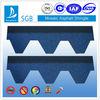 SGB hexagonal asphalt shingle blue color