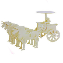 2013 wooden toy carriage