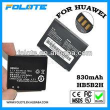 Wholesale!!! 3.7V Original mobile phone HB5B2H battery for huawei
