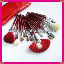 makeup bag with brush set