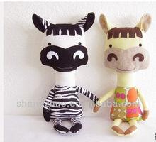 Horse Pony Zebra Softie Stuffed