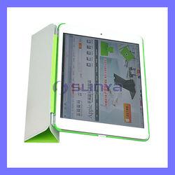 Soft Surface 3 Layer Fold Hard Case for iPad Mini Stand