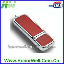Leather USB Flash DRIVE USB 2.0 Driver Leather