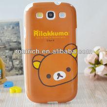tpu soft case cute bear Rilakkuma case for Samsung Galaxy s3 s iii i9300