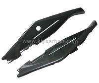 Carbon fiber under seat covers for Aprilia Tuono V4